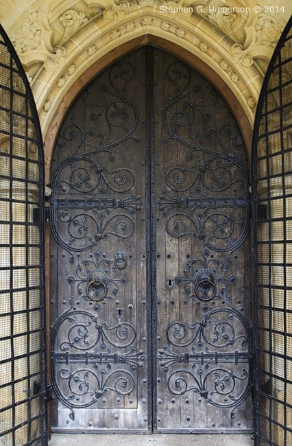 Door of Chiurch at Skelton near Newby Hall